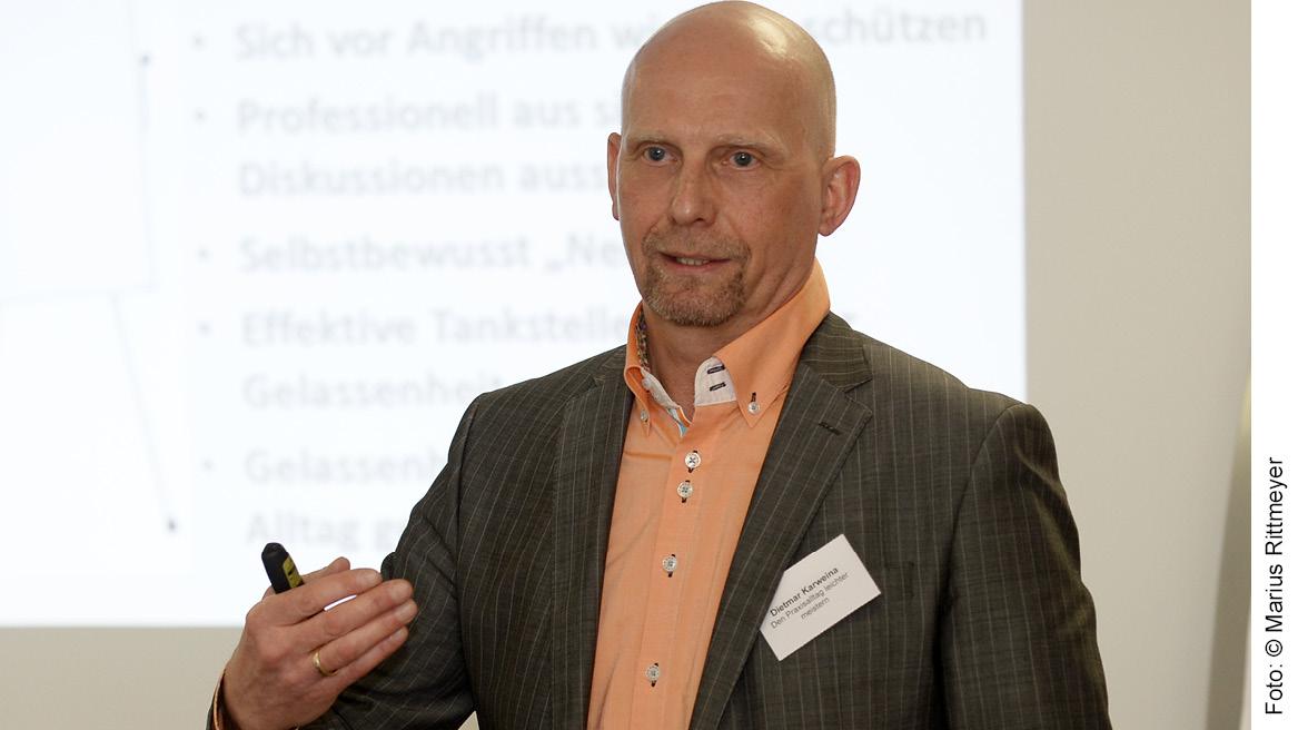 Dietmar Karweina - Berater, Trainer und Coach für Arztpraxen